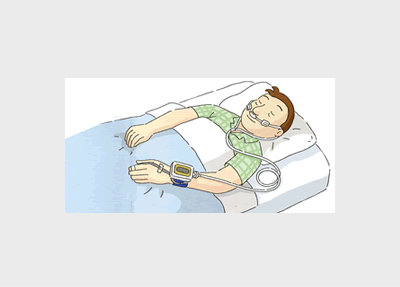 無呼吸の検査